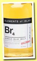 Br4 (54.7%, Specialty Drinks, Elements of Islay, 2012)