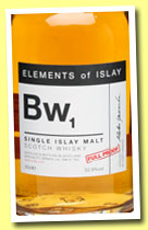 BW1 (52.9%, Specialty Drinks, Elements of Islay, 2012)