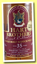 Bowmore 35 yo 1966/2001 (43.7%, Hart Brothers, Finest Collection)