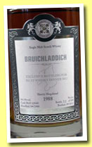 Bruichladdich 1988/2012 (54.3%, Malts of Scotland, sherry hogshead, cask #MoS 12040, 188 bottles)