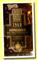 Bunnahabhain 42 yo 1968/2011 (46%, Mo Or Collection, #13, sherry butt, cask #11109, 254 bottles)