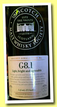 Cambus 21 yo 1989/2011 (61.2%, Scotch Malt Whisky Society, #G8.1, bourbon hogshead, 272 bottles)