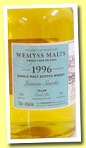 Caol Ila 1996/2012 'Lemon Smoke' (46%, Wemyss Malts, hogshead, 380 bottles)