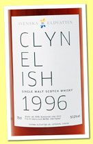 Clynelish 16 yo 1996/2012 (57.2%, Svenska Eldvatten, first fill sherry butt, cask #8780, 240 bottles)