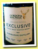 Glenburgie 1990/2012 (50%, Gordon & MacPhail Exclusive for Symposion, Sweden, cask #12517, 560 bottles)