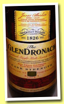 Glendronach 'Cask Strength' (54.8%, OB, batch 1, 2012)