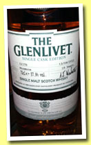 Glenlivet 18 yo 'Minmore' (57.9%, OB, Single Cask Edition, cask #22378)