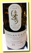 Lagavulin 21 yo 1991/2012 (52%, OB, sherry, 2772 bottles)