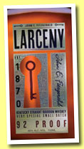 Larceny (46%, OB, Kentucky straight bourbon, 2012)