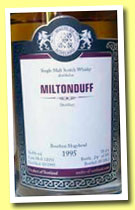 Miltonduff 1995/2012 (56.8%, Malts of Scotland, cask #MoS 12033, 192 bottles)