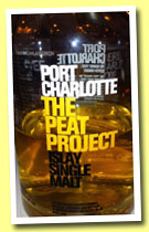 Port Charlotte 'The Peat Project' (46%, OB, 2012)