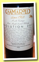 Samaroli 'Evolution 2012' (45%, Samaroli, blended malt, cask #4, 2012)
