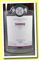 Tamdhu 1988/2012 (52.3%, Malts of Scotland, sherry hogshead, cask #MoS 10029, 209 bottles)