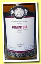 Tomintoul 1967/2012 (51.3%, Malts of Scotland, rum barrel, cask #MoS 12020, 139 bottles)