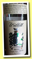 Willet 5 yo (55%, OB, Family Estate Bottled Single Barrel Rye, barrel #40, +/-2012)