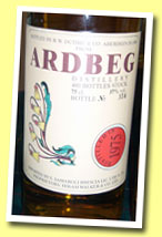 Ardbeg 1975/1990 (57%, Duthie for Samaroli, Flowers, 480 bottles)