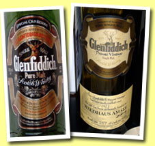 Glenfiddich NAS �Pure Malt� (43%, OB, early 80�s)