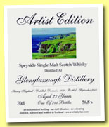 Glenglassaugh 27yo 1978/2006 (56.8%, The Whisky Fair, Artist Edition, 211 bottles)