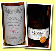 Rosebank 14yo 1992/2006 (46%, Coopers Choice, matured for 7 years in sherry)