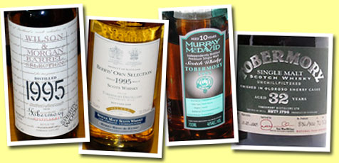 Tobermory 1995/2006 (46%, Wilson & Morgan, Sherry wood)