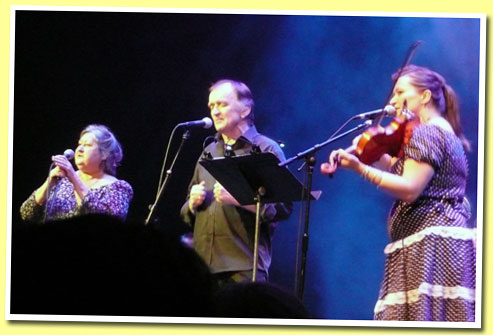 Norma Waterson, Martin Carthy, and Eliza Carthy
