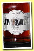 Aberfeldy '#unravel' (56.5%, OB, single cask, 2012)