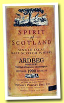 Ardbeg 1990/2001 (46%, Spirit of Scotland)