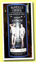Aultmore 22 yo 1990 'Attraction' (52.9%, McNeill's Choice, refill hogshead, +/-2013)