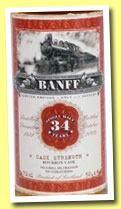Banff 34 yo 1974/2009 (50.4%, Jack Wiebers, Old Train Line, Bourbon cask, cask #0431, 213 bottles)