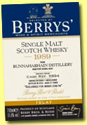 Bunnahabhain 21 yo 1989/2012 (51.8%, Berry Bros & Rudd for whisky.com.tw Taiwan, cask #5894, 231 bottles)