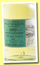Bunnahabhain 1997/2012 'Billowing Embers' (46%, Wemyss Malts, hogshead, 331 bottles)