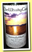 Bunnahabhain 21 yo 1991/2013 (48.6%, The Whisky Cask, bourbon cask)