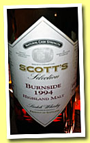 Burnside 1994/2012 (56.7%, Scott's Selection)
