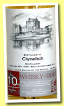 Clynelish 14 yo 1998/2012 (53.9%, Whisky-Doris)