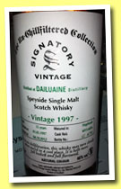 Dailuaine 15 yo 1997/2012 (46%, Signatory, Un-chilfiltered Collection, hogshead, cask #6015+6016, 795 bottles)