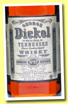 George Dickel 'Tennessee Whisky No. 12' (45%, OB, USA, +/-2013)