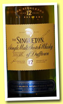 Singleton of Dufftown 12 yo (40%, OB, +/-2012)