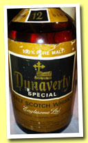 Dunaverty 12 yo (43%, OB, Eaglesome Ltd, 100% Pure Malt, +/-1975)