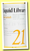 Glen Garioch 21 yo 1991/2012 (52.5%, The Whisky Agency, Liquid Library, bourbon, 243 bottles)
