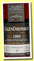 Glendronach 17 yo 1995/2013 (56.6%, OB for The Whisky Exchange, PX puncheon, cask #4682, 631 bottles)