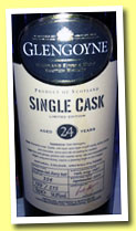 Glengoyne 24 yo 1987/2011 (54.8%, OB, European oak sherry, cask #354, 515 bottles)