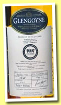 Glengoyne 19 yo 1990/2010 (59.6%, OB for The Whisky Exchange, cask #2848, 201 bottles)