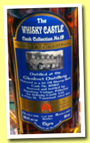 Glenlivet 15 yo 1996/2012 (52.1%, Signatory for The Whisky Castle, first fill sherry, cask #165162, 212 bottles)