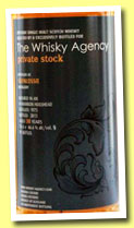 Glenlossie 38 yo 1975/2013 (46,6%, The Whisky Agency 'Private Stock' 2013, bourbon hogshead, 91 bottles)