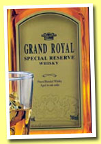 Grand Royal 'Special Reserve' (43%, OB, world ?, +/-2013)