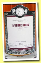 Invergordon 1973/2012 (42%, Malts of Scotland, bourbon hogshead, cask #MoS 12063, 135 bottles)