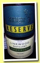 Linkwood 1993/2012 (52.8%, Gordon & MacPhail Reserve for Van Wees, cask #6817, 224 bottles)