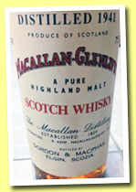 Macallan-Glenlivet 37 yo 1941 (43%, Gordon & MacPhail, sherry wood, +/-1978)