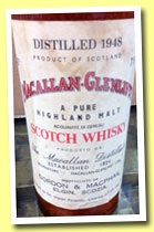 Macallan-Glenlivet 25 yo 1948 (43%, Gordon & MacPhail, Pinerolo, sherry wood, +/-1973)