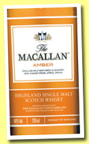 Macallan 'Amber' (40%, OB, 1824 series, +/-2013)
